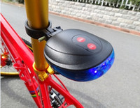 Wholesale Bicycle Cycling Laser Tail Light Bike safety light with Laser LED