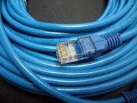 Wholesale 50FT FT RJ45 CAT5 CAT5E Ethernet LAN Network Cable Blue Brand New M