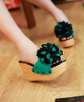 Wholesale 2013 new wedge sandals wedge slippers fllatform shoes wedge shoes loafers slip on shoes saddle shoes
