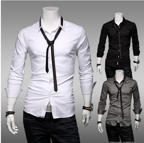 2013 HOT New Fashion Form a Complete Set of Tie Men's Long Sleeve ...