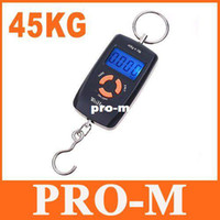 Digital scale other 45Kg 45kg Double Precision Hook Electronic Fishing Weight Digital Scale, 5pcs lot, free dropshipping