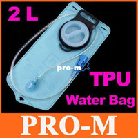 Wholesale 2L Blue TPU Bicycle Mouth Bladder Water Bag Hydration Camping Hiking Climbing H8062 Dropshipping