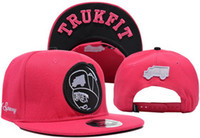 Wholesale Trukfit Snapbacks Caps Red Snapbacks Hats Free Shiping