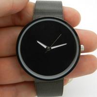Cheap Sport Iron Net Mesh watch Best Men's Quartz-Battery watch mens
