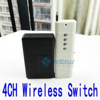 Wholesale Long Distance Remote Controls - 3000 Metres Long Distance 4CH Wireless Remote Control Switch Module