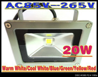 Wholesale 20W LED Flood Light White High Power Waterproof Outdoor Lights AC85V V LC