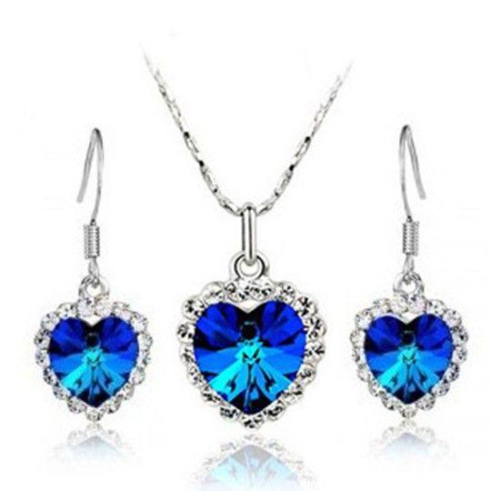 Titanic Necklace And Ring Titanic Diamond Necklace