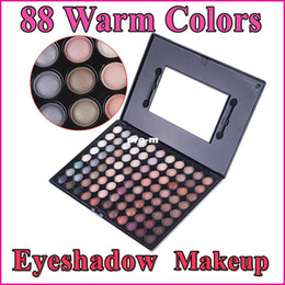 Wholesale Warm Colors Eyeshadow Palette Eye Shadow Makeup Tools Makeup Palette With Mirror Free Dropshipping