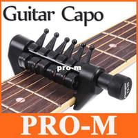 Guangdong China (Mainland) alternative guitar tuning - Black Flanger Flexi Portable Alternative Tuning Guitar Capo I92