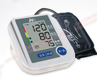 Wholesale Automatic arm type electronic sphygmomanometer instrument measuring high blood pressure instrument