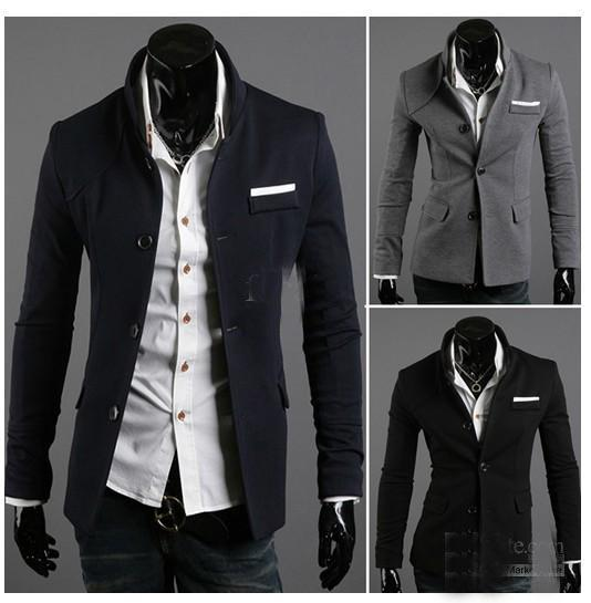 Hot Selling!! 2013 New Hot Men's Casual Suits Stylish Style Suit