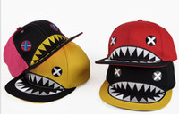 Wholesale 2013 New Snapback Hats Popular Baseball Caps Hip hop Cap The Hat Fashion The Shark Hat piece
