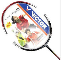 Wholesale Full Graphite Badminton Racket Original Victor Brand with Security and full cove