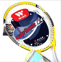 Wholesale Wish Brand Tennis Racket Pro A Made of High Quality Aluminium Graphite Composite Tr
