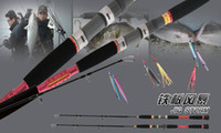 Wholesale 98 Carbon Jigging Boat Rod Sea Fishing Rod Fishing Tackle Alconite Guide FUJI wheel seat m Bait heavy g SEC