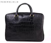 Designer uomini borsa in pelle Viaggi di lusso borsa casual 42 * 31 * 8 trasporto libero