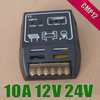 Wholesale 10A V V CMP12 intelligence Solar cells Panel Battery Charge Controller Regulators