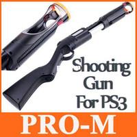 al por mayor controlador de movimiento-El disparo de la Pistola para PS3 MOVE Navigation Controller F1333 Envío Gratis