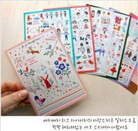 Wholesale New Arriving Mixed Kids Cute Stickers Children Puffy Decoration label Multifunction