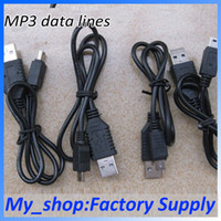 Wholesale 5P data cable T line data cable usb data cable MP3 MP4 USB cell phone data cable