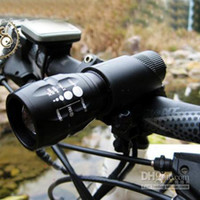 Wholesale CREE Q5 Lumen LED Bike Bicycle Headlight Front Light with Mount Holder Clip