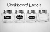 Wholesale Cute Chalkboard Sticker Labels Vinyl Kitchen Pantry Organizing Home Sticker Design Decals