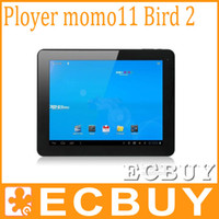 Wholesale Ployer MOMO11 Bird Dual Core Tablet PC Inch Android CPU GHz Dual Camera