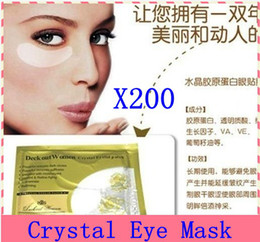 Wholesale Crystal collagen Eye Mask Hotsale eye patches