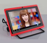 Wholesale 7 quot Allwinner A13 Q88 tablet pc capacitive Screen android GHz MB GB Wifi colors mixorder
