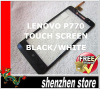 lenovo Touch Screen  Lenovo P770 New Screen Digitizer Replacement for P770 BLACK WHITE Free SHip