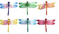 Wholesale New Simulation Dragonfly Fridge Magnets stylish appearance lifelike Refrigerator magnets Home Decor