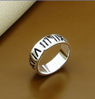 Celtic band numerals - 925 Silver Rings Jewelry Engraved Roman Numerals Mens Wedding Ring