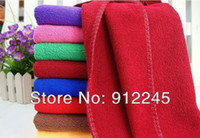 Wholesale Adult microfiber cm beauty towels Car cleaning cloth g Strong absorbent amp soft piece
