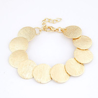 Wholesale Simple Fashion Beautiful Bracelet Bracelet With Flower Shape Metal Grinding Discs