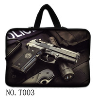 Wholesale 10 quot quot inch waterproof laptop sleeve case soft neoprene bag w t hiden handles ipad HP Sony