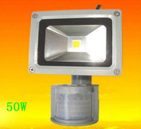 Wholesale Wholes Price W W W W W WW CW PIR Motion Sensor LED Flood light AC85 V