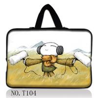 Wholesale 13 quot quot inch waterproof laptop sleeve case soft neoprene bag w t hiden handles macbook pro air