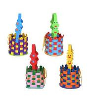 Wholesale New Cartoon DIY Craft Handicraft EVA Basket Kids Children Puzzle Educational Toys