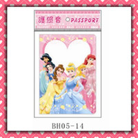 Wholesale six princess apple passport holders passport covers Card holders