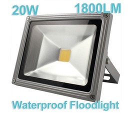 Wholesale 20W 1800LM 85-264V LED White light floodlight Waterproof Spot Project outdoor Flood Light