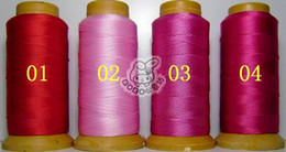 NO12 one roll 1.0mm folded yarns DIY jewelry findings Nylon Beading Thread Cord String 24 colors