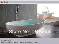 Wholesale Free standing bathtub Soaking bathtub solid surface bathtub corian bathtub