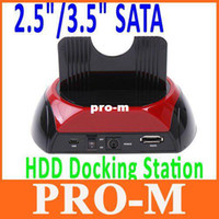 Wholesale All in One USB quot quot SATA HDD Docking Station e SATA OTB Car Reader with Retail Package