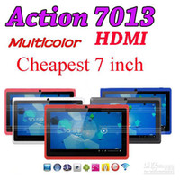 Wholesale 7 quot Inch Actions Muti color Haipad Capacitive Android Epad Cortex A8 Tablet PC GB Q88 A13