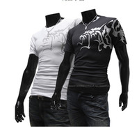 2013 free shipping men's t- shirts Short sleeve round neck sh...
