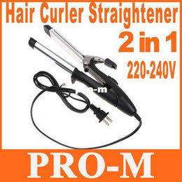 Wholesale 2 in Hair Curler Straightener Hair Curling Iron Dropshipping