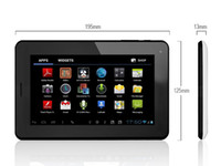 Android 4.0 7 android 4.0 tablet - 7 Allwinner A13 M GB Capacitive Screen phone call function sim card tablet pc with gsm