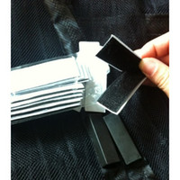 Wholesale 50pcs New Magic Mesh Hands Free Screen Door Magnetic Anti Mosquito Bug Great For Pets