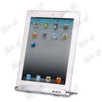 Wholesale Multi function Aluminum Dock Charger Foldable Charging Stand For iPad