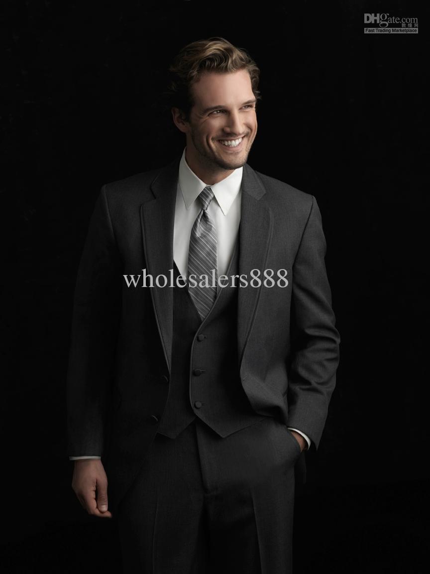 Charcoal Grey Color Suit Online | Charcoal Grey Color Suit for Sale